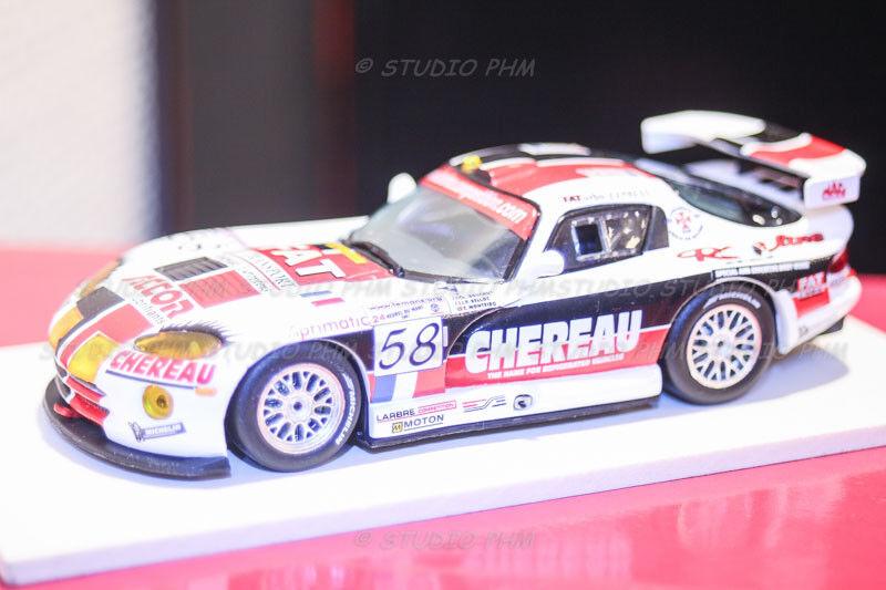 Chrysler viper gts-r larbre competition competiton chereau f.a.t. 24h du mans 2001 ixo