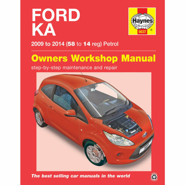 Ford Ka Haynes Manual    Petrol Workshop Manual