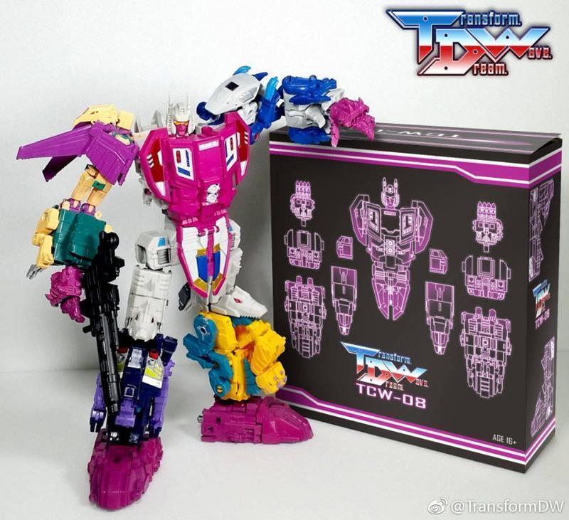 Transformers TDW TCW-08 TCW08 CW  ABOMINUS mise à niveau d'accès avec Kit  produit de qualité