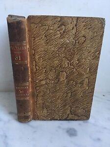 Histoire Charles XII Real De Suecia por Voltaire Edición Estereotipo Didot 1817
