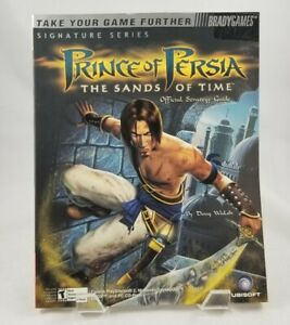 Prince Of Persia The Sands Of Time Strategy Guide Bradygames