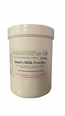Goats Milk Powder for Soaps & Lotions  (Nature Identical) 100g Tub