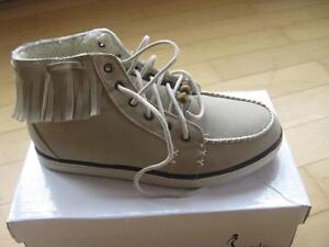 Super Schuhe gefüttert in natur Gr. 37 neu