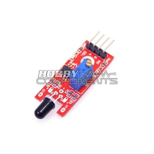 Atmel IR Flame Detection Sensor Module Arduino Pic