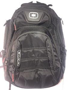OGIO Renegade RSS Biker Backpack Black Pindot Lots Of Pockets and Padding