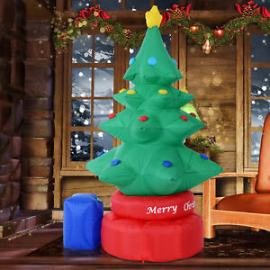image is loading 7ft animated rotating inflatable christmas tree lighted xmas