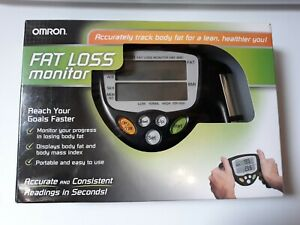 OMRON HBF-306C Handheld Body Fat Loss Monitor Home Fitness