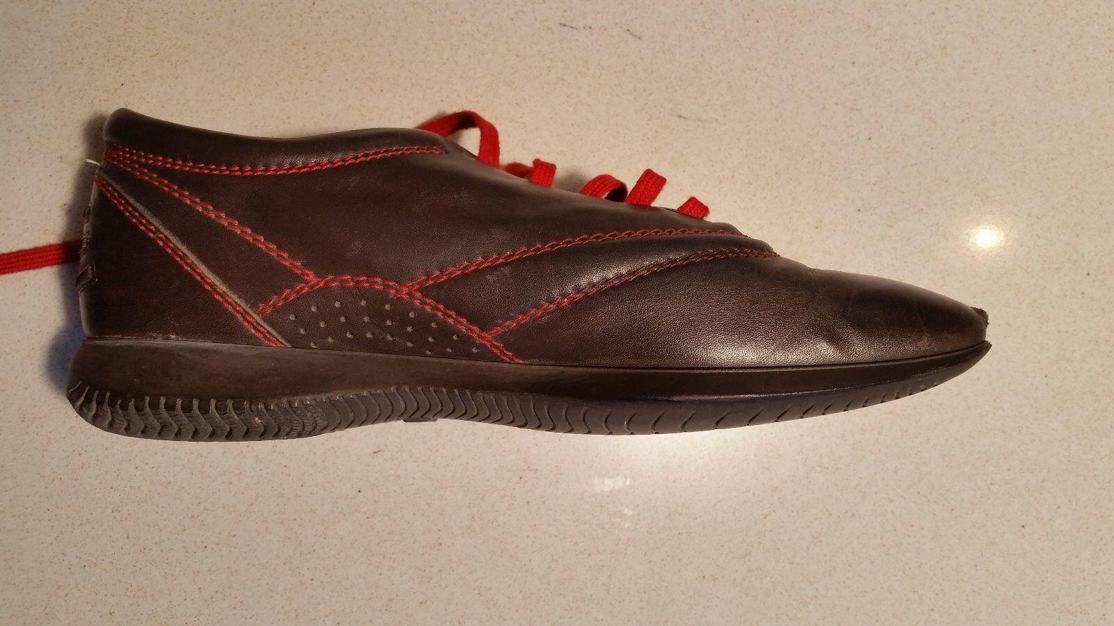 Recortes de precios estacionales, beneficios de descuento Hogan's (Tod's Group) Marrón Cuero Zapatillas/Tenis-en muy buena condición