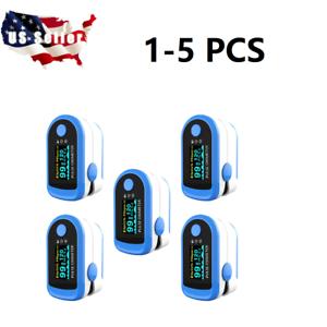 1-5X Finger Tip Pulse Oximeter SpO2 Heart Rate monitor blood oxygen Meter Sensor