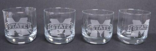 SET of 4 ROCKS GLASSES 11.5 oz EACH LASER ENGRAVED CHOICE OF PATTERNS