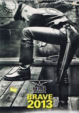 Mr B Presents BRAVE 2013 CALENDAR By Bruno Gmunder Verlag WALL EDITION  @New@