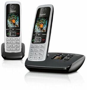 Gigaset-C430A-Duo-Telephone-sans-Fil-Ecran-Tactile-en-1-8-034-Dect-50-m-300-M