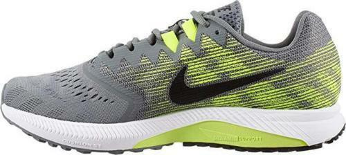 Nike a 2 uomini corrono zoom formazione scarpe enormi grigio grigio enormi / nero volt 908990 010 5ea773