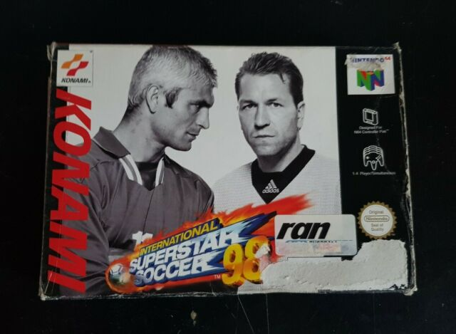 International SuperStar Soccer '98 - Nintendo 64