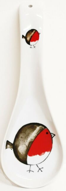 "Crazy Farm Animals Spoon Rest 27cm 10.5/"" Large Funny Ceramic Porcelain Spoon"