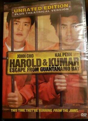 NEW Harold & Kumar Escape from Guantanamo Bay (DVD, 2008 ...