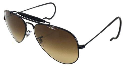 Sole Outdoorsman Ban Ray 58 3030 Occhiale Sunglasses Black Personalizzato Remix 6ZHq4w8