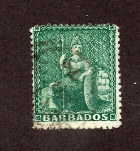 Barbados-SG-58-Used-wmk-large-star-Lot-1220802
