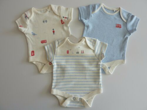 NEXT 3 Gorgeous Little LONDON Bodysuits NWT