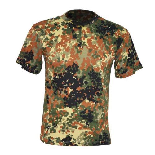 TSHIRT esercito Militare italiano tedesco t shirt uomo mimetica maglietta maglia