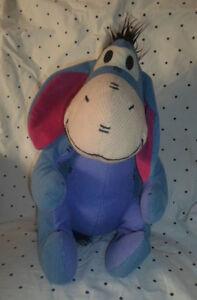 "Disney Store Eeyore Winnie the Pooh 17"" Plush Soft Toy Stuffed Animal"