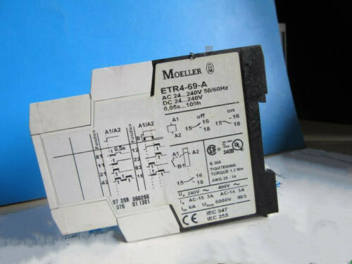 Details about  /1pcs Used Muller ETR4-69-A Relay