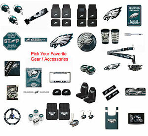 New NFL Philadelphia Eagles Pick Your Gear / Car Accessories ...