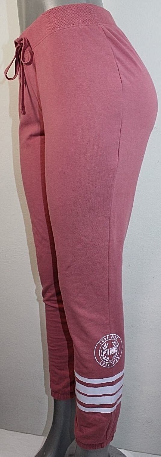 Pink By Victoria's Secret Skinny Graphic Classic Pant Nwt Soft Begonia XSmall