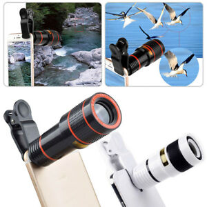 HD-12x-Optical-Zoom-Clip-on-Camera-Lens-Phone-Telescope-For-Universal-Cell-Phone