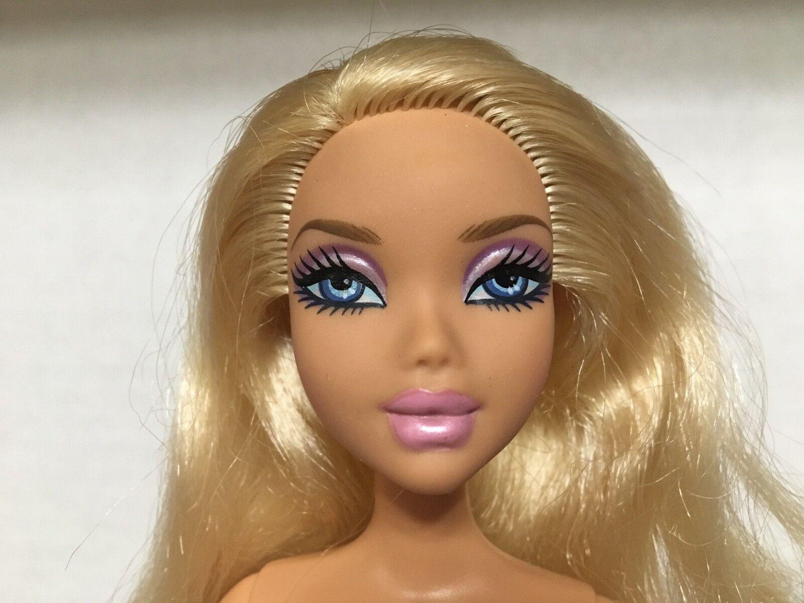Barbie Barbie Barbie My Scene Rockin 'Premios Kennedy Muñeca Cabello Rubio Raro  tiendas minoristas
