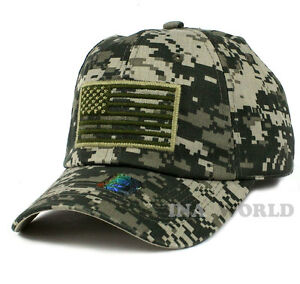 Image is loading USA-American-Flag-hat-Tactical-Operator-Military-Army- 36298c99009
