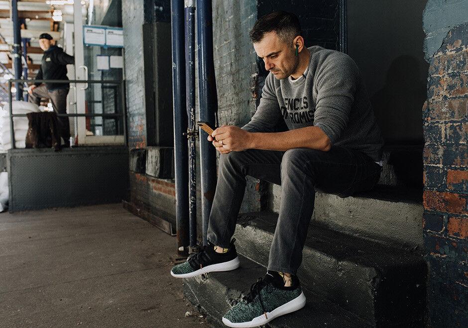 New K SWISS Uomo Uomo Uomo 8 donna 9.5 Gen-K Icon Knit Gary Vee Vaynerchuk scarpe verde 11ef54