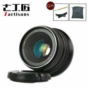 7artisans-25mm-F1-8-Manual-Fixed-Lens-12-Blades-Aluminum-Mount-For-Fuji-Cameras