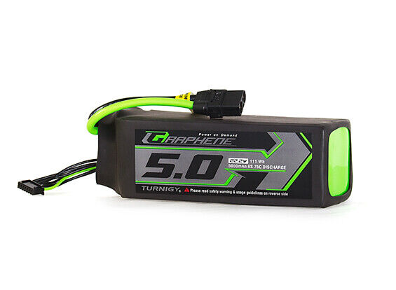 RC Turnigy Graphene Panther 5000mAh 6S 75C Battery Pack