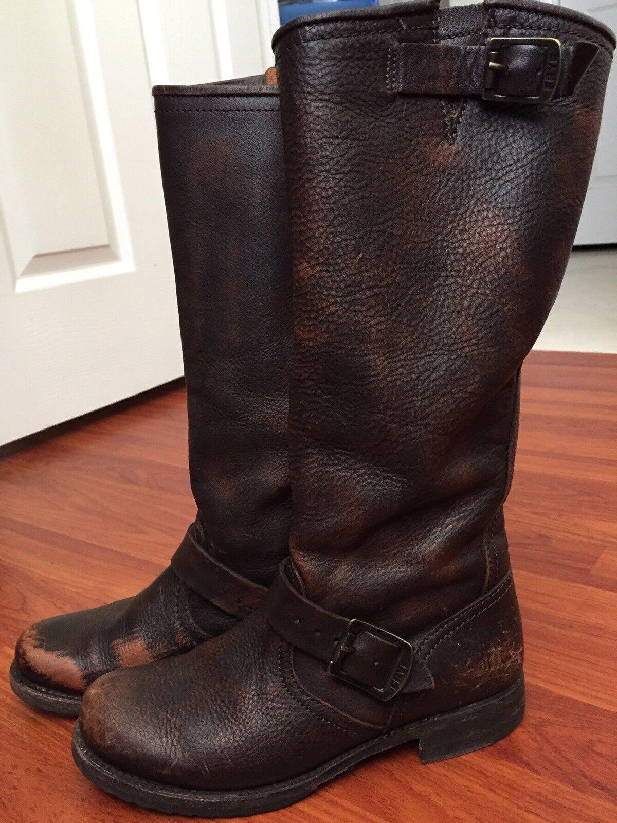 Women's Frye Boot's?Size 7 1/2, Cognac blend color
