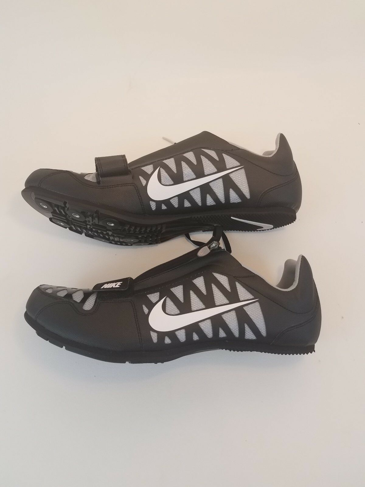 long jump nike zoom new size 14 mens black white and grey Seasonal price cuts, discount benefits