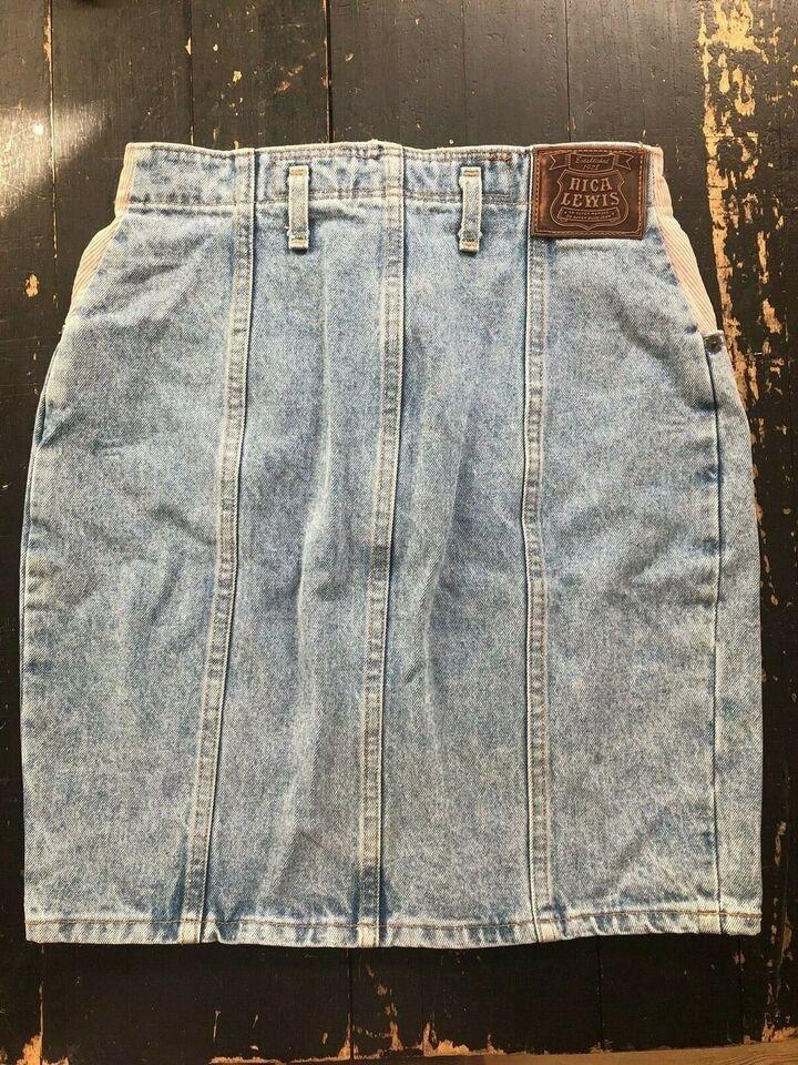 str. 36, Vintage nederdel, Næsten – dba.dk – Køb og Salg af