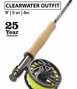 Orvis-Clearwater-5wt-9-039-0-034-Fly-Rod-Outfit-25-Year-Warranty-Free-Shipping