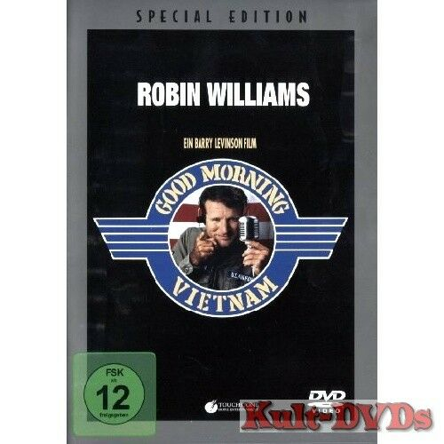 Good Morning Vietnam (DVD) Robin Williams, Forest Whitaker *Neu+OVP*