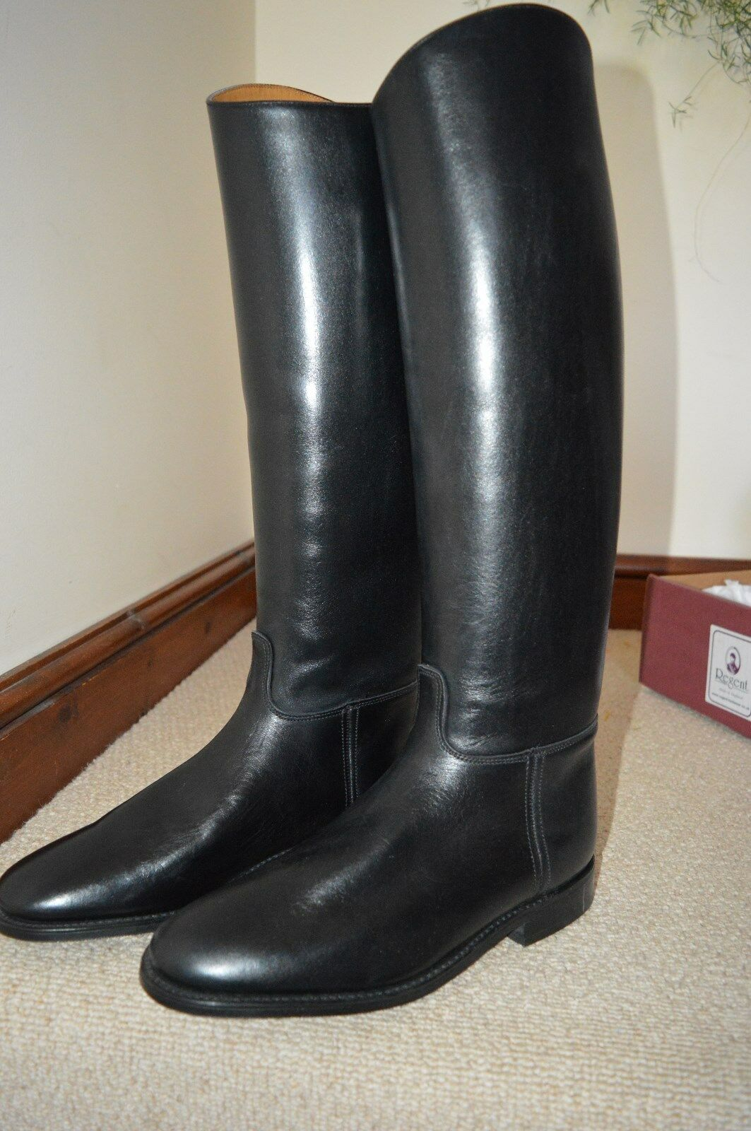 Ladies Full Leather Riding Boot Regent Hawkins Size 9