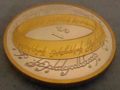 Verantwoordelijk Superbe Monnaie 1 $ MÉdaille Seigneur Des Anneaux 2003 - Fdc Sous Blister !! Modieuze (In) Stijl;