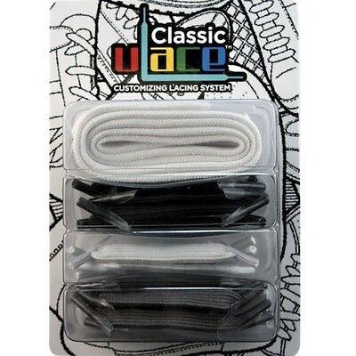 U-Lace Elastische Schnürsenkel Schuhbänder Elastic Laces Multi Colour 18 Stück