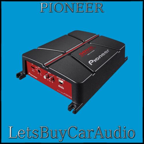 Pioneer Gm a3602 400 VATIOS 2 CANAL PUENTEABLE COCHE AMPLIFICADOR DE POTENCIA