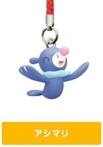 Pokemon Popplio Sun /& Moon Netsuke Mascot Strap Cell Phone Capsule Figurine Toy