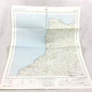 1966 Vintage Militare Mappa Di Bude Stratton Boscastle Holsworth Clovelly