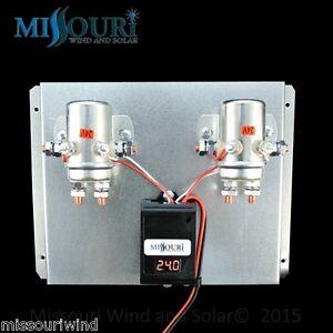 880 Amp Digital Charge Controller 24 Volt Dc For Wind Turbine Solar Panel Ebay