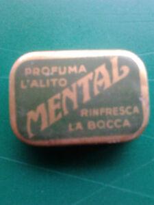 SCATOLA-LATTA-MENTAL-ANNI-039-50-COLLEZIONE-RARITA-039-VINTAGE