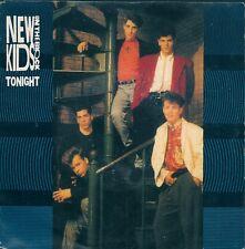 "45 TOURS / 7"" SINGLE--NEW KIDS ON THE BLOCK--TONIGHT / HOLD ON--1988"