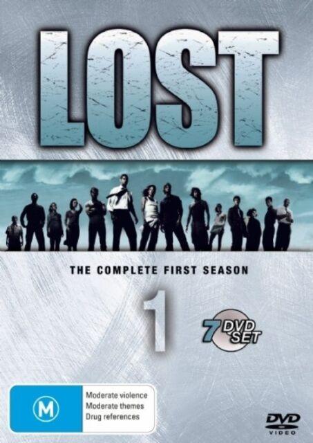 Lost : Season 1 (DVD, 2008, 7-Disc Set)**R4**Like New**