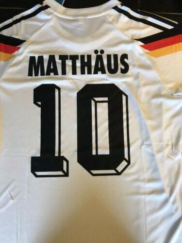 MAGLIA JERSEY SHIRT GERMANIA 1990 MATTHAUS 10